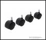 Fixman Twin Wheel Castor Bolt 4pk - 40mm Bolt - Code 275361