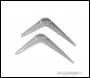Fixman London Grey Shelf Bracket 20pce - 350 x 300mm - Code 290981