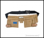 Silverline Double Pouch Tool Belt 11 Pocket - 300 x 200mm - Code 395015