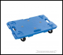 Silverline Interlocking Plastic Dolly - 100kg - Box of 2 - Code 407053