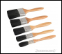 Silverline Mixed Bristle Brush Set - 5pce - Code 427557