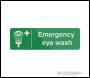 Fixman Emergency Eye Wash Station Sign - 300 x 100mm Self-Adhesive - Box of 5 - Code 466002