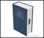 Silverline 3-Digit Combination Book Safe Box - 180 x 115 x 55mm - Code 534361