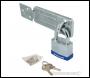 Silverline Padlock & Hasp Set Laminated 2pce - 50mm - Code 786551