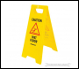 Silverline 'A' Frame Caution Wet Floor Sign - 295 x 610mm - Code 883504