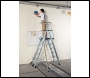 Zarges ZAP Telescopic Work Platform, Z600 4 - 7 rungs - Code: 41326