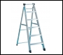 Zarges Class 1 Industrial Swingback Step 1 x 6 Stepladder - Code: 49606