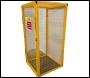 SED Gas Bottle Storage Cage - 1.8m x 0.9m x 0.9m Gas Cage - c/w Highly Flammable Sign