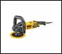Dewalt DWP849X 150mm & 180mm variable speed polisher - 240v
