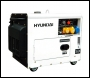 Hyundai DHY6000SE 5.2kW 115v/230v 'Silent' Diesel Generator (Silenced 3000rpm Air Cooled)