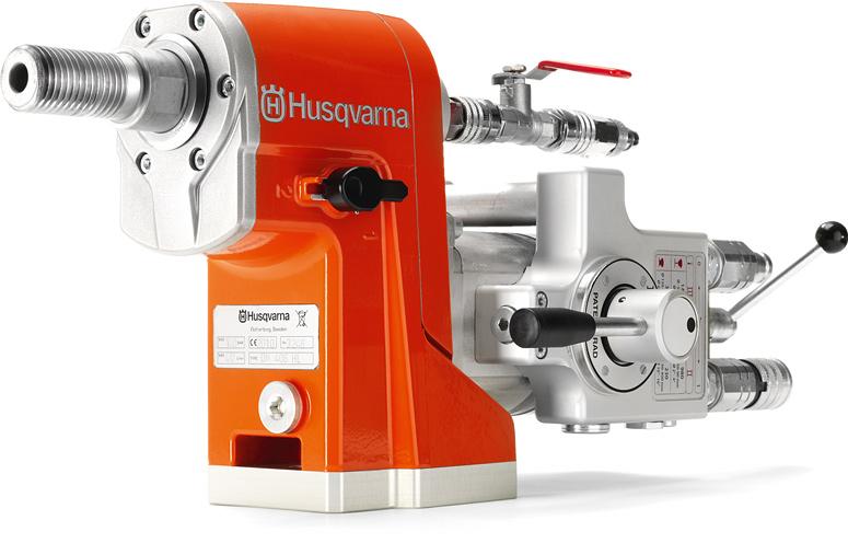 Husqvarna Dm 406 Hl Hydraulic Drill Motor Rig Mounted