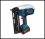 Bosch GSK 18 V-LI 18v Cordless Nail Gun + 2 Lithium Ion Batteries 4ah + L Boxx