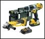 DeWalt DCK293M2-GB 18V XR Combi Drill & Angle Grinder Twin Pack