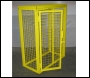 SED Gas Bottle Storage Cage - 1.3m x 1.0m x 0.5m Gas Cage - c/w Highly Flammable Sign