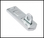 Sterling Hasp & Staple 100mm - Concealed Hinge Pin (per 6 pack) - Code DHS100