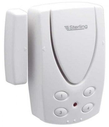Sterling Ea300 Wireless Alarm With Magnetic Door Contact With Keypad