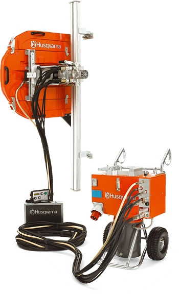 Wall Saws Hydrostress : Husqvarna ws hydraulic wall saw mm code