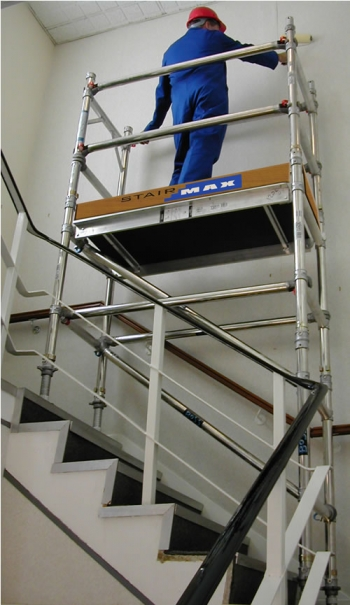 Boss Tower Staircase : Youngman boss stairmax tower code product