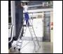 Zarges Sherpascopic Telescopic Platform Ladder 7 - 9 rungs - Code: 2272252