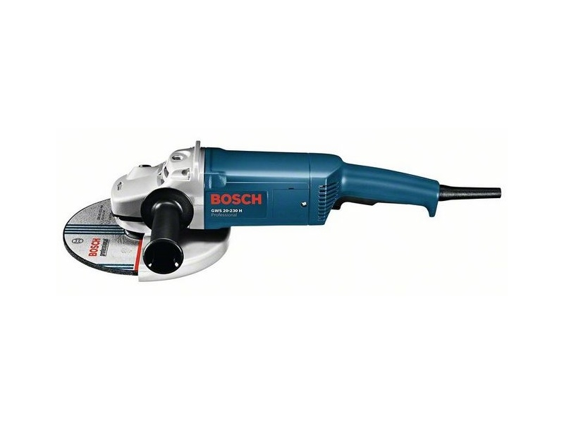 bosch gws20 230h 230mm 9 39 39 angle grinder 110v product. Black Bedroom Furniture Sets. Home Design Ideas