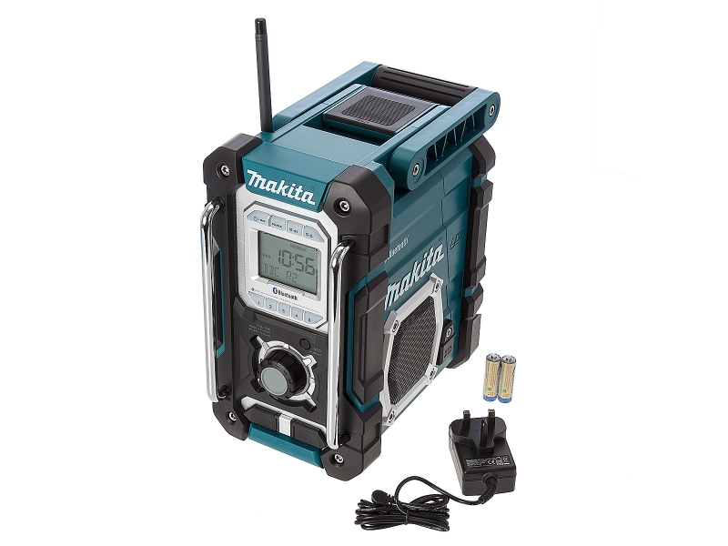 makita dmr106 jobsite radio with bluetooth and usb charger product. Black Bedroom Furniture Sets. Home Design Ideas