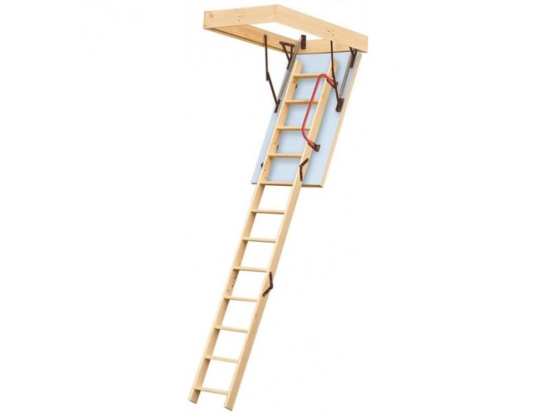 Step Ladder Gs Manufacturers Mail: Lyte Easiloft Timber 3 Section Loft Ladder