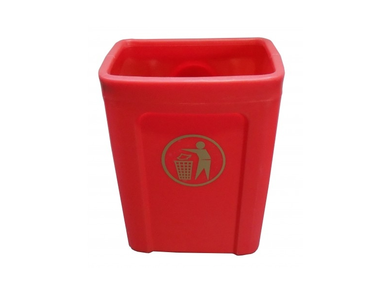 Oaklands titus waste bin litre with or without lid