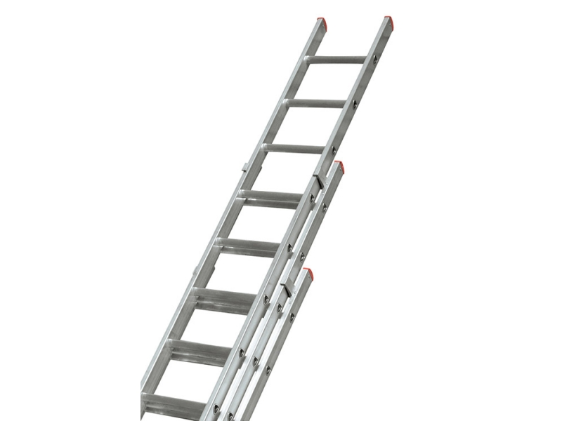 Step Ladder Gs Manufacturers Mail: LEWIS GBX Pro Trade Triple Section Extension Ladder