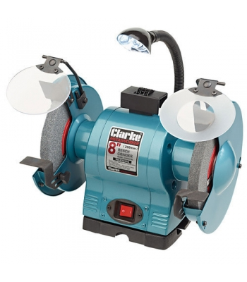 Clarke Cbg8370l 8 Bench Grinder With Lamp 187 Product