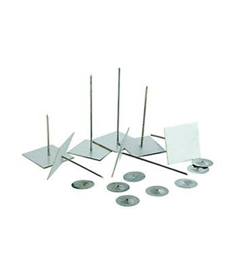 Hough Ah266 Self Adhesive Metal Insulation Pins 62mm