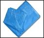 Blue Woven Polyethylene Tarpaulins (eyeletted) Various Sizes Available