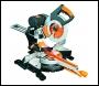 Evolution Rage3-DB 255mm Multipurpose Double Bevel Sliding Mitre Saw (inc 1x blade)