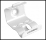 Spit Firefix Double Clip 02 Size (white) - (per 200) - Code 924251
