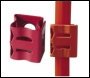 Pirelli / Prysmian FP Firefix Single Red Cable Clips (per 500) - Code 921622