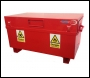 TradeSafe TSF 4 x 2 x 2 Flame Box with Hydraulic Arms - Flame Retardant Site Box