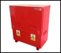 TradeSafe TSF 4 x 4 x 2 Flame Vault with Hydraulic Lid Arms - Fire Retardant Site Vault