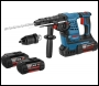 Bosch GBH36VF-LI- PLUS 36V Li-ion SDS Plus Rotary Hammer Drill (2 x 4Ah Batteries)