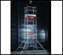 PopUp MiTOWER One Man Scaffold Tower: Working Heights 4m, 5m or 6m