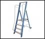 Lyte Widestep Platform Fibreglass Step Ladder - 4 Treads - 1.84m (GFWP4)