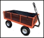Sherpa Large Garden Trolley Cart (Including Free Liner + Puncture Proof Tyres) - Code SLGT3