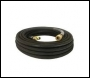BE Whirlaway 50' 15M 4000 PSI ⅜ inch  High Pressure Hose c/w Quick Release Fittings