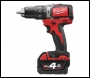 Milwaukee M18 Compact Brushless Percussion Drill - M18BLPD-402C