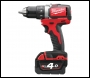 Milwaukee M18 Compact Brushless Drill Driver - M18BLDD-402C