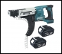 Makita DFR550RMJ 18 Volt Drywall Auto Feed Screwdriver With 2 x 4.0Ah Li-ion Batteries