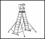 Youngman Teleguard Telescopic Platform Ladder - 7-9 Rung - Code 317515