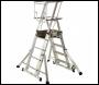 Youngman Teleguard Telescopic Platform Ladder - 5-8 Rung - Code 318515