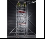 PopUp MiTOWER Plus Two Man Scaffold Tower: Working Heights 4m, 5m, 6m, 7m or 8m