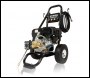 Hyundai HYW3100P2 3100psi 210cc 7Hp 214 Bar Petrol Pressure Washer - inc Puncture Proof Tyres, 4 Quick Release Nozzles, Trigger Gun, Lance, 10m Hose, AR Triplex Pump, Brass Head + Ceramic Pistons