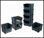 Barton Storage Topstore - Space Bin Containers - Pack of 5 - E54SB-5