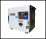 Hyundai DHY8000SELR-T 5KW 6.25KVA Single Phase, 5KVA Three Phase Switchable Generator, 230v / 400v